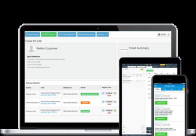 Projet Complet de Gestion de Mobile Shop en PHP
