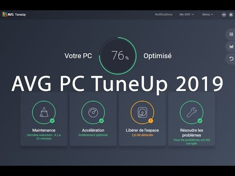 AVG PC TuneUp 2019 Crack 19.1.1209 avec clé de série