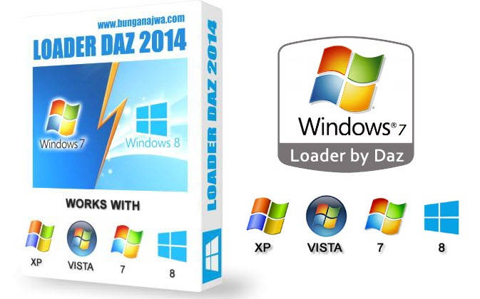 Windows 7 Loader v2.2.2 By Daz