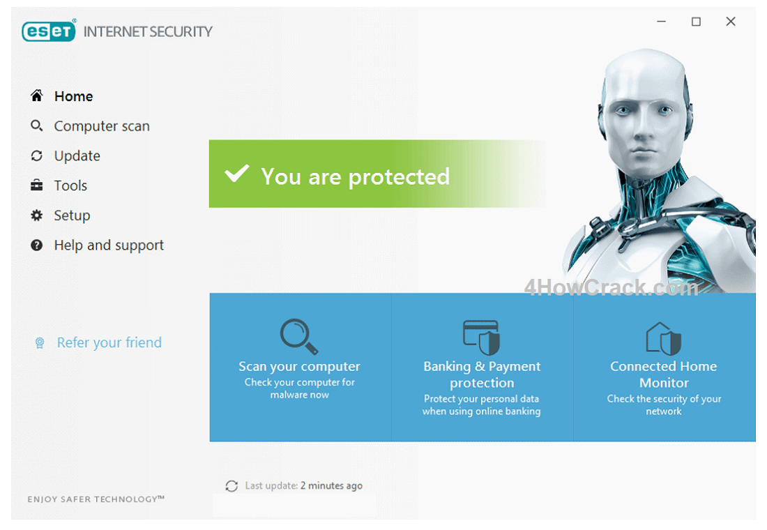 ESET Internet Security 13.0.22.0 Crack avec clé d'activation 2020