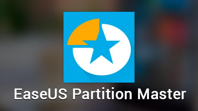 EaseUS Partition Master 2020