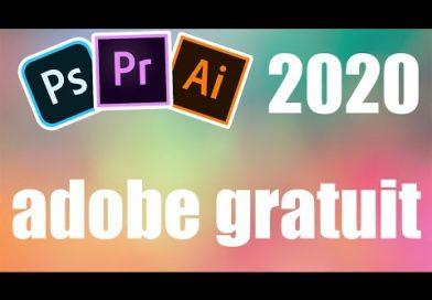 Les Logiciels Adobe 2020 GRATUIT !!