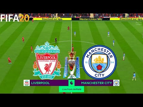 FIFA 20 | Liverpool vs Manchester City - 19/20 Premier League - Full Match & Gameplay