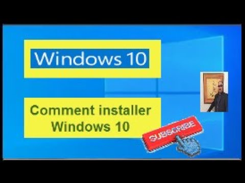 Comment installer WINDOWS 10 de A à Z sur votre  PC en 2020 tutoriel