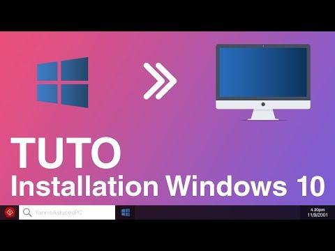 Comment installer Windows 10 sur votre PC ?