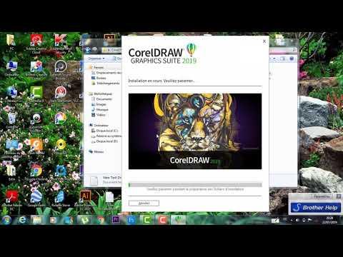 comment installer et cracker corel draw 2019