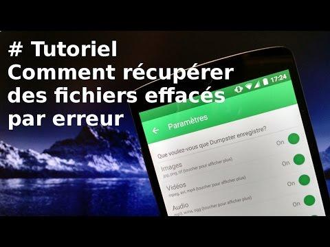 [TUTORIEL] Comment récupérer des fichiers effacés par erreur (Dumpster)