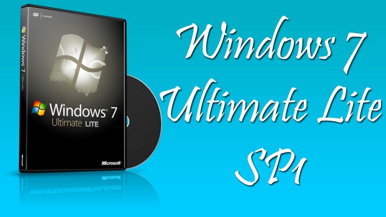Téléchargement Gratuit De Windows 7 Ultimate SP1 Lite Edition 2019