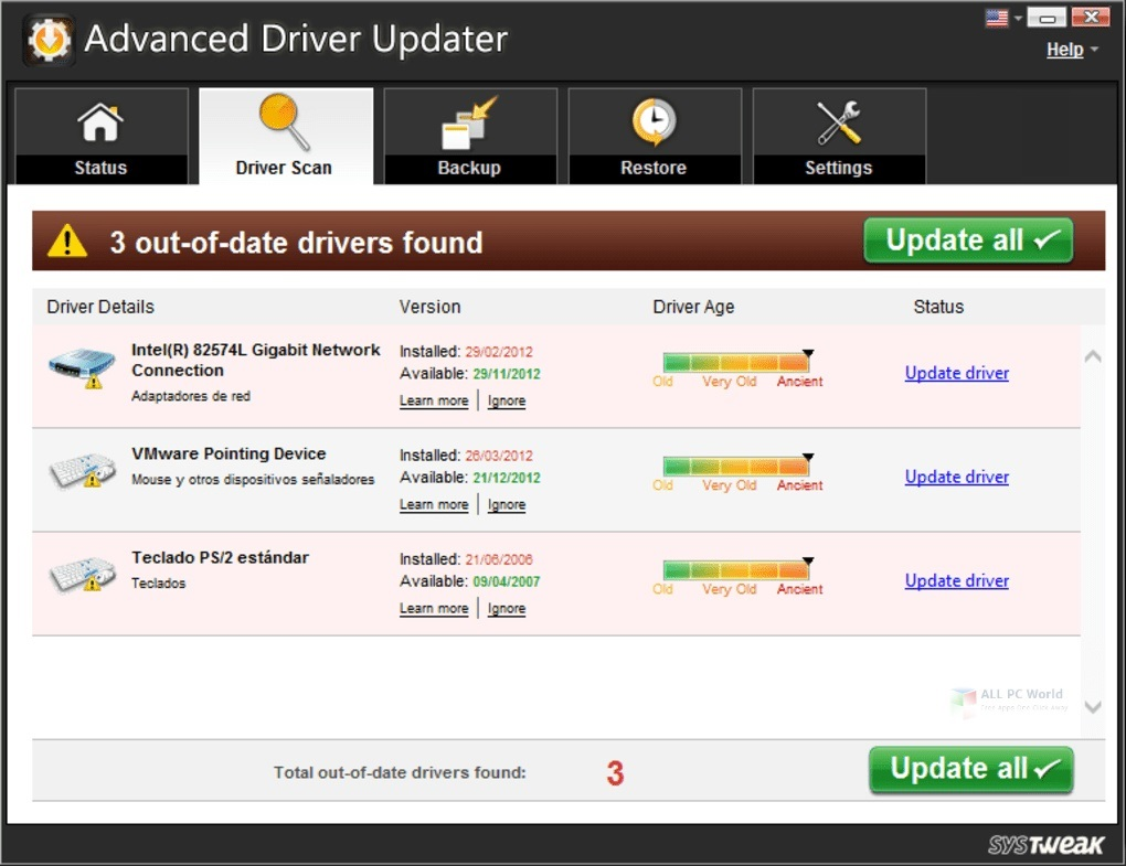Télécharger Advanced Driver Updater 2020 v4.5 gratuitement