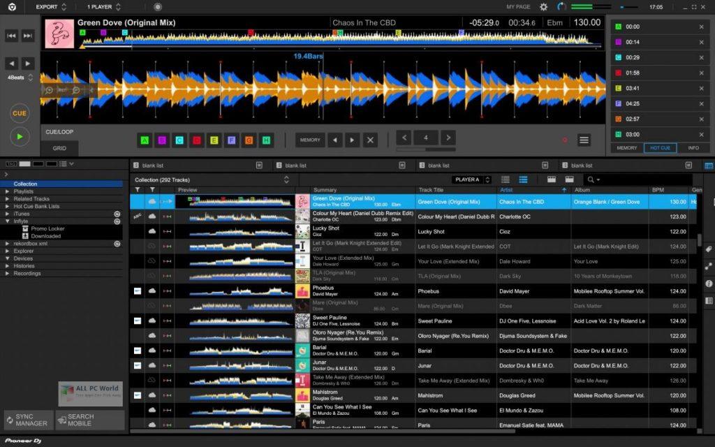 Pioneer DJ Rekordbox 2020 v6.0 pour Windows 10