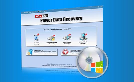 MiniTool Power Data Recovery 8.7