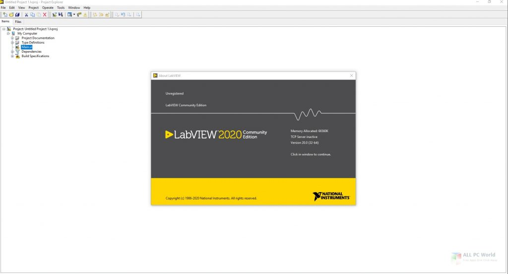 NI LabVIEW 2020 v20.0 Télécharger