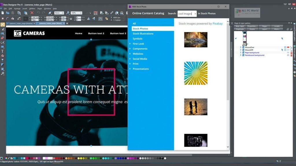 Téléchargement en un clic de Xara Designer Pro Plus 20.4