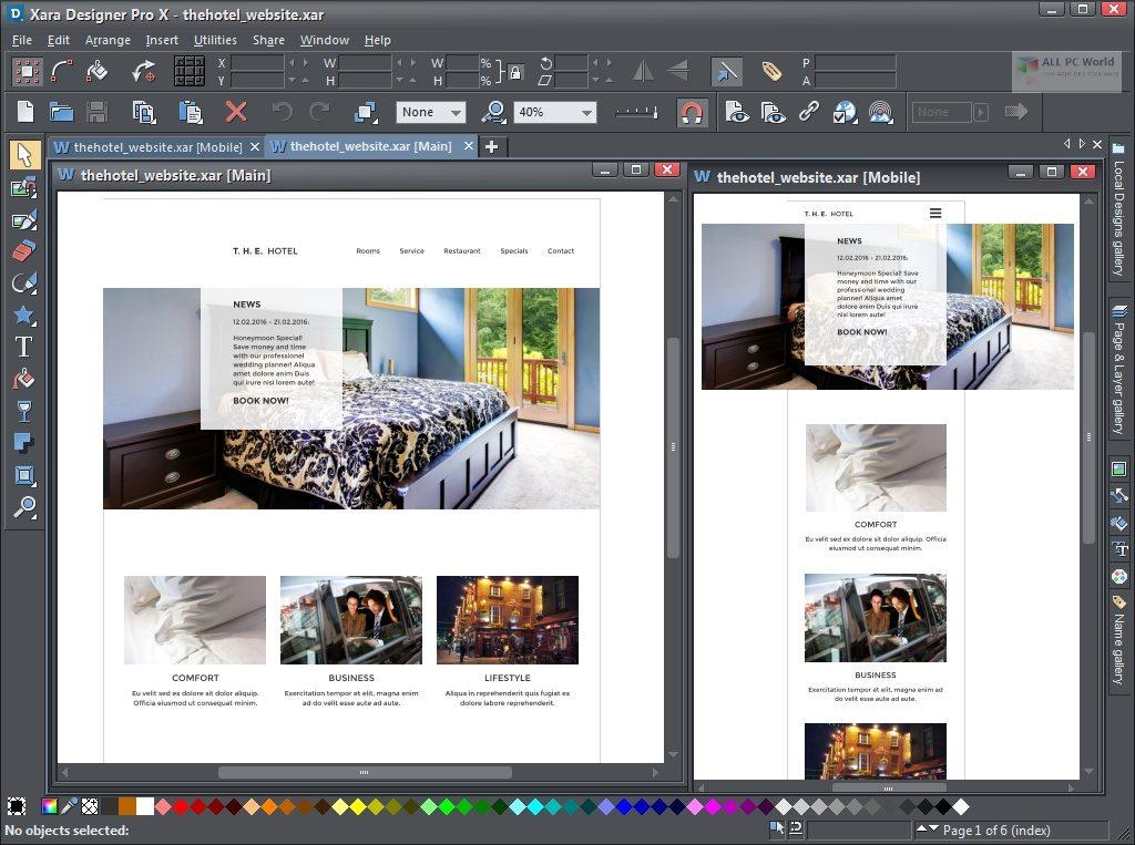 Téléchargement de la version complète de Xara Designer Pro Plus 20.4