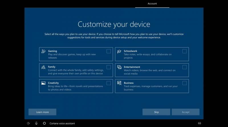 customize your windows 10