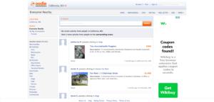 oodle- site de remplacement de la page arrière