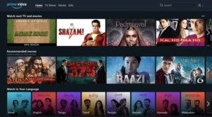 Amazon Prime Video - Films en hindi en ligne