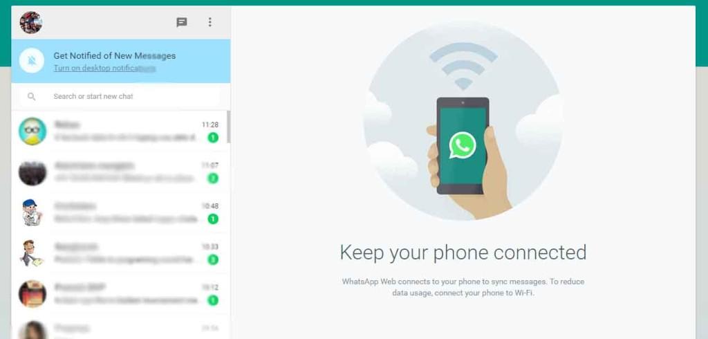 Utilisez WhatsApp sur PC