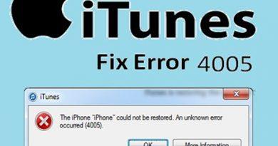 [Solved 2021] Erreur iTunes 4005 lors de la restauration de l'iPhone - Corrigé