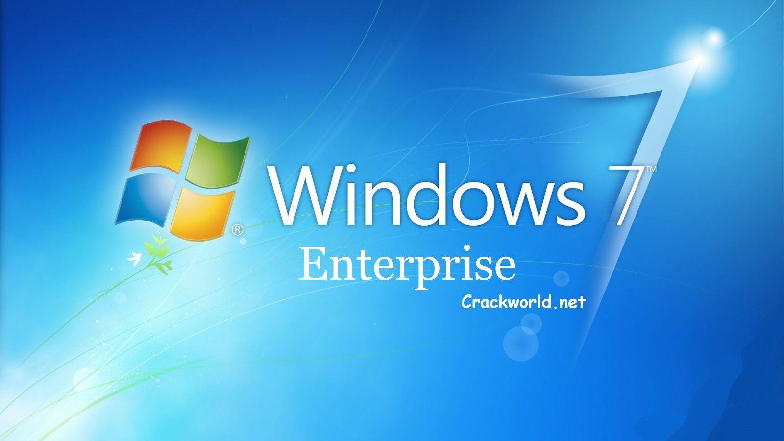 ISO de la version complète de Windows 7 Entreprise [32bit - 64bit] Téléchargement Gratuit