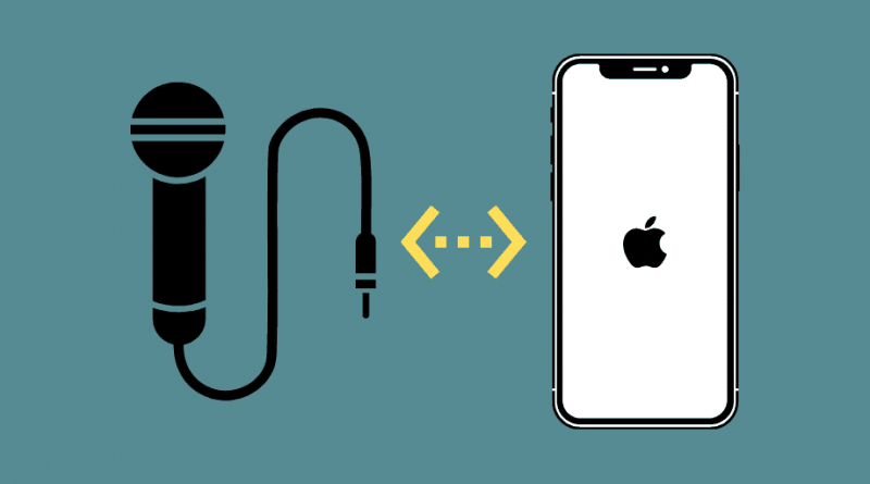 Connect Microphone to iPhone