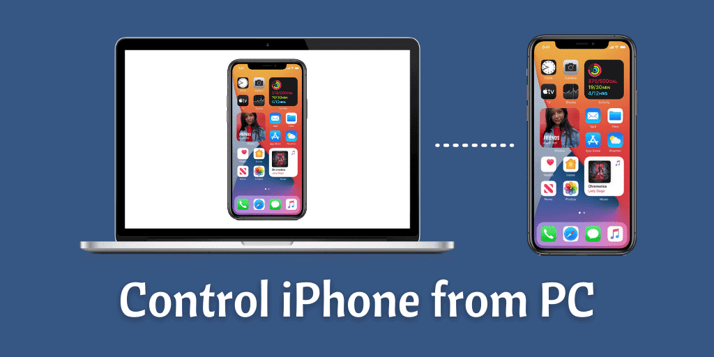 Control iPhone from PC