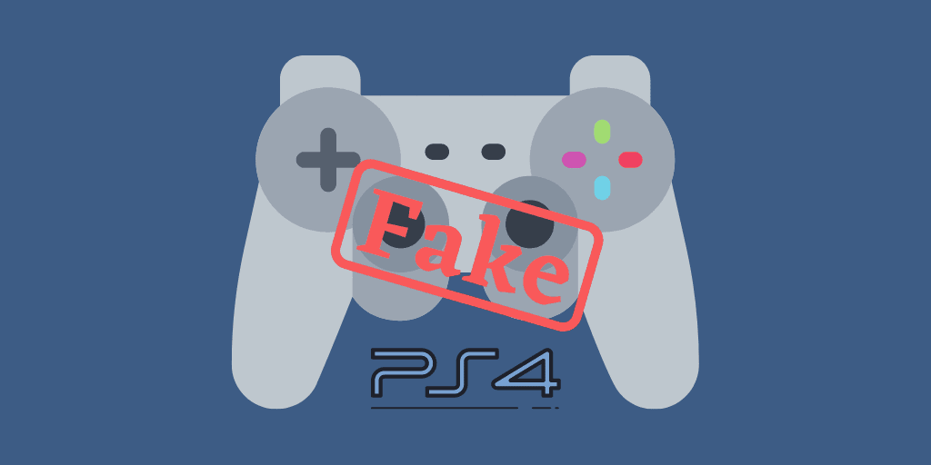 Fake PS4 controller