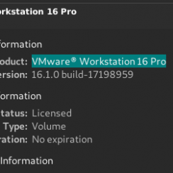 Clé VMware Workstation 16 pour Windows + Mac [Latest]
