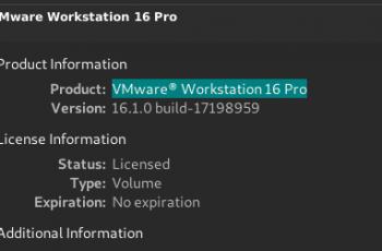 Clé VMware Workstation 16 pour Windows + Mac [Latest]