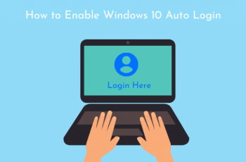 Comment activer la connexion automatique dans Windows 10
