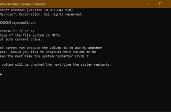 Comment exécuter CHKDSK dans Windows 10 avant ou après le démarrage