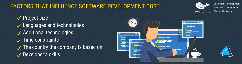 Facteurs qui influencent le coût de développement logiciel
