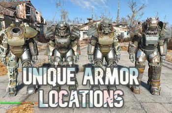 Guide des emplacements des meilleurs objets d'armure uniques de Fallout 4