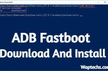 Télécharger ADB Fastboot Install sur Windows (7, 8, 10)