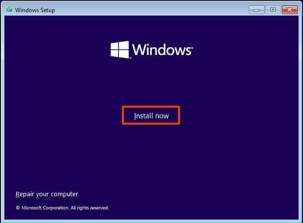 Installer Windows 11 sur du matériel non pris en charge
