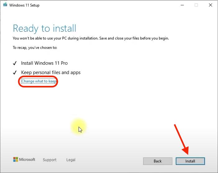 Comment installer Windows 11 sur du matériel non pris en charge