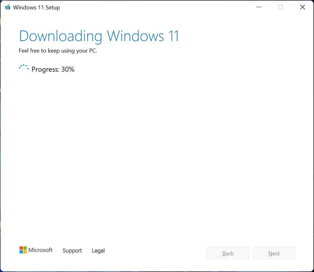 Téléchargement ISO Windows 11