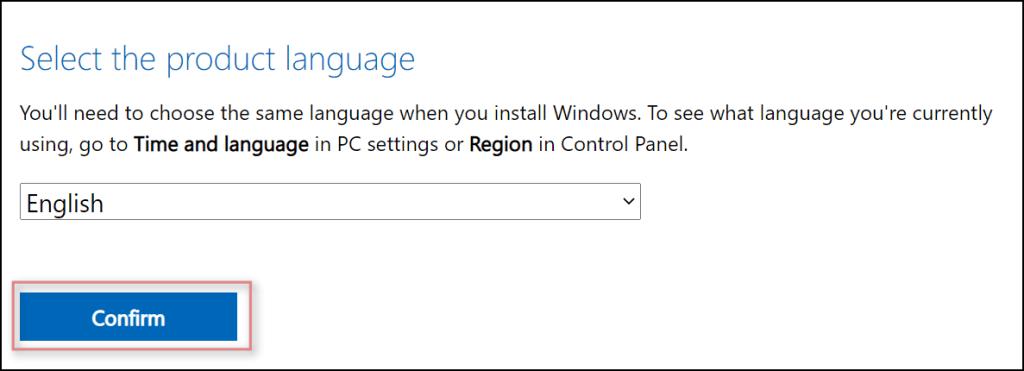 Sélectionnez la langue de Windows 11
